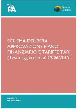 5_Schema delibera_approvazione Piano Finanziario e Tariffe TARI
