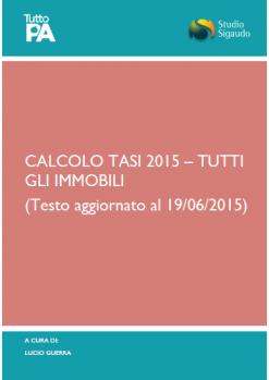 Calcolo TASI 2015_TUTTI immobili