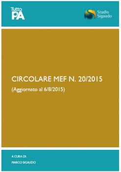 Circolare MEF 20-2015