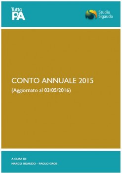 Conto annuale 2015