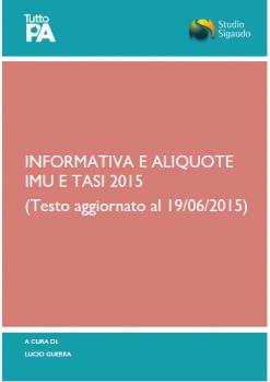Informativa e Aliquote_IMU+TASI_2015