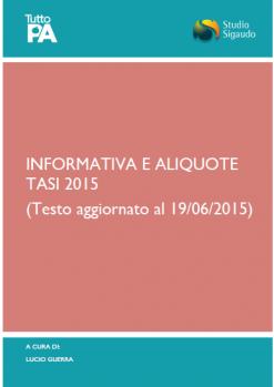 Informativa e Aliquote_TASI_2015