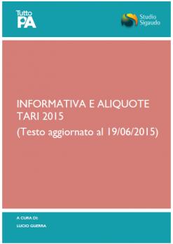 Informativa e Tariffe_TARI_2015