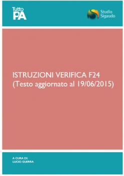 Istruzioni verifica f24