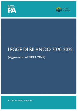 Legge di bilancio 2020 - aggiornamento