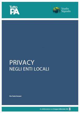 Privacy negli Enti Locali