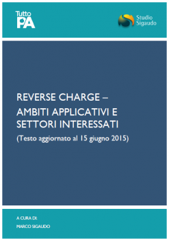 Reverse charge -AMBITI APPLICATIVI E SETTORI INTERESSATI