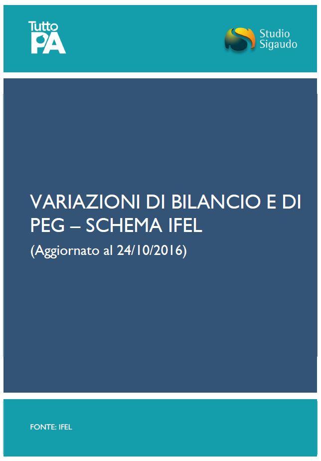Variazioni di bilancio e di peg bacheca tuttopa - Crediti diversi in bilancio ...