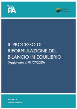 Il processo di riformulazione del bilancio in equilibrio