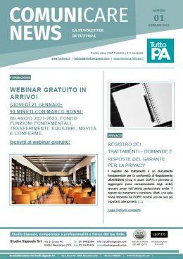 Newsletter 01-2021