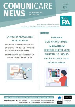 Newsletter 07-2021