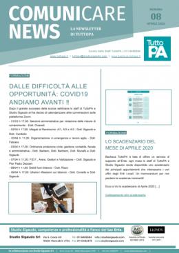 Newsletter 08-2020