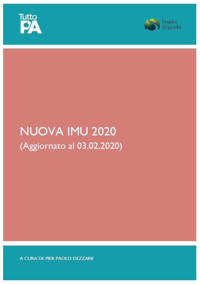 Nuova Imu - Legge di Bilancio 2020